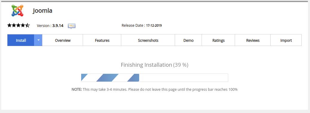 configuration Of Joomla Package Installer
